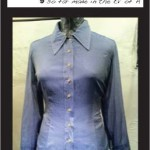 "The Super Shirt ""Blue Sheer Oxford"""