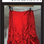Tutu Parachute Skirt (blood)