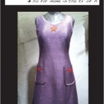 Hepburn Dress (grape woven)