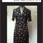 Button Front House Dress (Rosette Crepe)