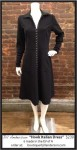 "Hook Italian Dress (""Black"" double crepe)"
