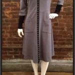 "Hook Italian Dress (""Slate"" double knit)"