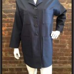 Squares Jacket (authentic navy suiting)