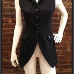 Jacket Vest (coarse black twill)