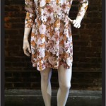 Bebe Dress (rustic floral jersey)